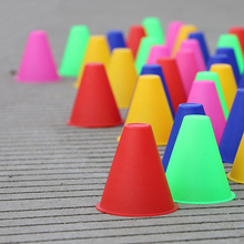 10pcs/lot Training Marking Cones Slalom Skate Pile Cup-Random Color