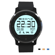F68 Bluetooth Heart Rate Smart Watch Touch Screen Sports Wristwatch IP67 Waterproof For Android And IOS