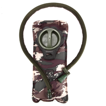 2L Outdoor Camo Water Bag Folding Water Drinking Bag For Cycling Camping Hiking