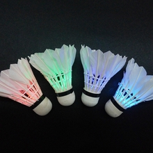 Colorful Portable Luminous Badminton Battery Inside