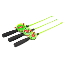 49/50/51CM Mini Ice Fishing Rod With Fishing Reels