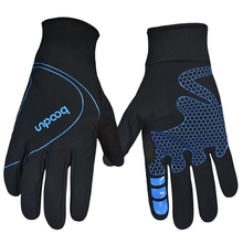 Outdoor Unisex Rock Climbing Riding Glove Windproof Keep Warm Waterproof Full Finger Glove