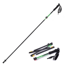 1 PCS Naturehike Outdoor Folding Alpenstock Trekking Pole Folding Walking Stick