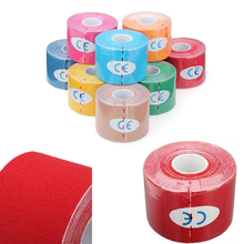 3pcs Red Sports Tapes Muscles Care Adhesive Tape Kinesiology Bandage