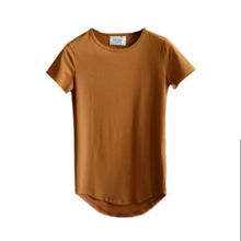 FIND™ Long Mens Spring Summer Cotton Essential Basic Tshirts Short Sleeved T-shirts