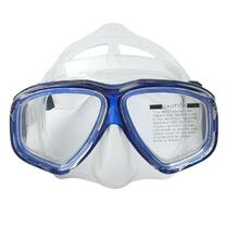 Anti-fog Waterproof Diving Swim Goggles Diving Glasses Face Mask Eyewear Tempered Glass Lens