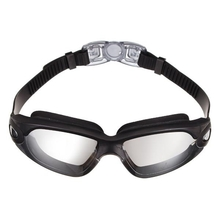 Anti-fog Adult Swim Goggles Silica Gel Waterproof Swimming Glasses Eyewear Large Frame Lens