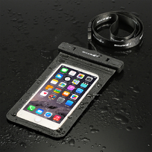BlitzWolf¶ô¶¸ BW-WB1 Universal Touch Screen IPX8 Waterproof Case Dry Bag Waterproof Bag With Clip For iPhone 7/Plus,Samsung Galaxy S5/S4,LG,G3,HTC and