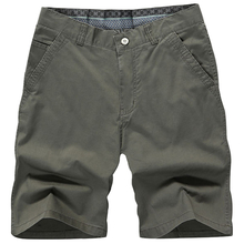 FIND™ 5 Color Men Summer Casual Zipper Knee Length Cotton Blended Beach Shorts
