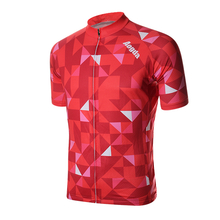 Mens Cycling Jersey MTB Bicycle Clothing Cycling Shorts Elasticity Polyester Breathable Quick Dry