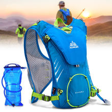 AONIJIE 8L Water Bladder Backpack Holder Hydration Carrier Running Shoulder Bag Pack Camping Hiking