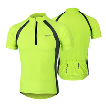 ARSUXEO Cycling Shirt Bicycle Short Sleeves Sports Clothes Summer Breathable Quick Dry Wicking