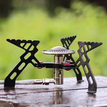 Alocs Portable Camping Stove Burner Outdoor Cooking Gas Furnace Picnic Stove Cooker