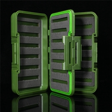 Fly Fishing Tackle Boxes Skin Micro Slotted Foam Transparent Waterproof