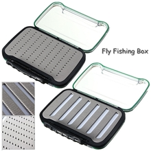 Fly Fishing Tackle Boxes Micro Slotted Foam Transparent Waterproof