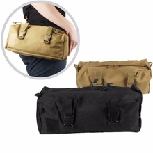 NylonWaterproof Molle Portable Fishing Package Collection Large Storage Spaces Debris Tool