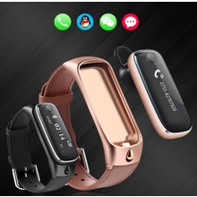M6 Bluetooth Headset Smart Bracelet Sport Tracker Sleep Moniter Smart Watch For Android IOS Phone
