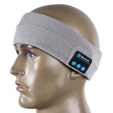 Bluetooth Sport Sweat Headband Wireless Hands-free Music Sports Smart Caps Call Answer Ears-free Hea