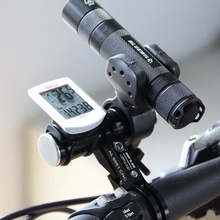 31.8mm Road Bicycle Bike Handlebar Extension Light Mount Carbon Fiber Extender Holder For Flashlight