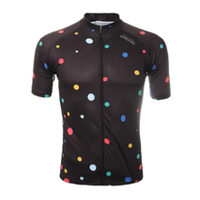 Mens Sports Riding Cycling Jersey Quick Dry Bicycle Short Sleeve Breathable Sportswear Polyester