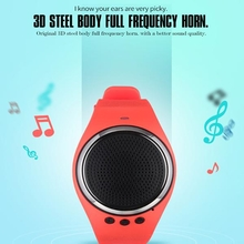 RS09 Musical Smart Wristband Bluetooth Remote Control Music Speaker Pedometer Watch