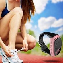B90 Hifi Watch Bluetooth 3.0 Multi-Functions Wristband Outdoor Mini Music Speaker Smart Watch
