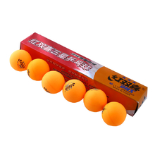 3 Star 6 Pics DHS 40MM Olympic Table Tennis Orange Ping Pong Balls Durable For Competition
