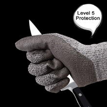 Cut Resistant Gloves Level 5 Protection Food Grade EN388 Certified Safety Gloves for Outdoor Fishing