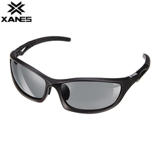 XANES-PX1 UV400 Polarized Sports Sunglasses for Running Cycling Fishing Golf Tr90 Frame HD Lens Ultralight