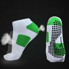 Professional Fitness Yoga Socks Breathable Anti-slip Rubber Dots Running Sport Short Socks