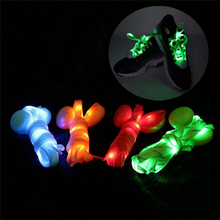 120CM*2 LED Light Shoelace Nylon Glowing Night Runner Safety Shoe String