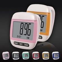 LCD Multifunction Step Pedometer Calories Counter Health Manager
