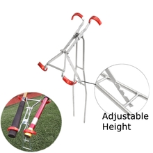 Adjustable Fishing Rod Double Pole Bracket Foldable Tool Standing Holder