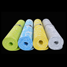 6MM TPE Printed Yoga Mat Super Light Anti-skid Lengthen Outdoor Sport Mats For Beginners