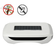 Outdoor Camping Solar Mosquito Dispeller Smart Blower Anti-Insects Fan Repellent Device