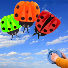 1.4m Children Ladybug Kite Portable Outdoor Funny Game Sport Park Kite