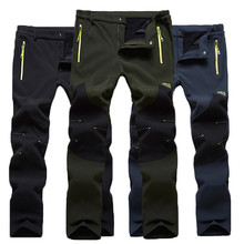 FIND™ Autumn Winter Outdoor Sports Climbing Trousers Waterproof  Warm Thick Lovers Assault  Pants