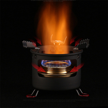 ALOCS Camping Picnic Alcohol Stove Set Portable Liquid Fuel Furnace Burner Cooker