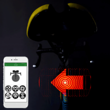 CYCPLUS Multi-pattern APP DIY Smart Bicycle Taillight Brake Warning Monitoring IP56 78g Bluetooth 4.0 Connection Wireless Cycling Bike Tail Lamp Large