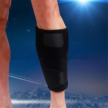 Sports Adjustable Neoprene Calf Shin Support Wrap Brace Splint Band Sleeve Injury Guard