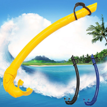 Diving Snorkeling Scuba Air Tube Underwater Silicone Snorkel Breathing Tube Pipe