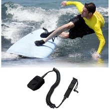 Coil Surfboard Leash Surfing Stand Up Paddle Safety Board Leash