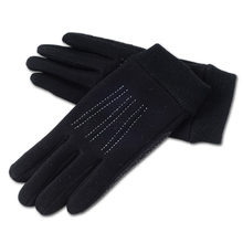 MIMOSA Winter Men Full Finger Touch Screen Cycling Gloves Fashion Warm Black Gloves Autumn Bicycle Sport Gloves