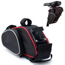 Bicycle Bike Seat Post Bag Cycling Pouch Seat Saddle Rear Package