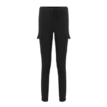 FIND™ Casual Women Slim Stretchy Waist Drawstring Pockets Pencil Pants