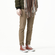 FIND™ Autumn Winter Mens Young Solid Color Trousers Male Retro Footwork Dress Casual Pants