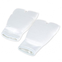 1 Pair Elasticated Karate Sparring Punching Gloves White L
