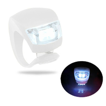 Bicycle LED 3 Mode Fog Light White With 2 CR2032 battery