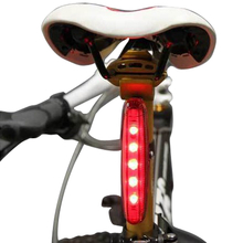5 LED 3 Mode Bicycle Bike Rear Tail Lamp Light Red