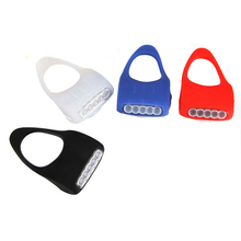 5 LED Silicone Bicycle Caution Safety Rear Lights